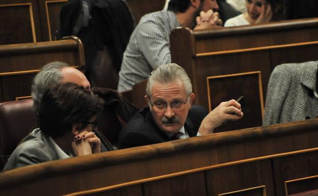 Antonio Trevín, en el Congreso.