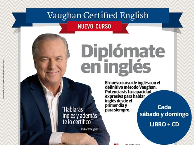 Nuevo curso Vaughan Certified English