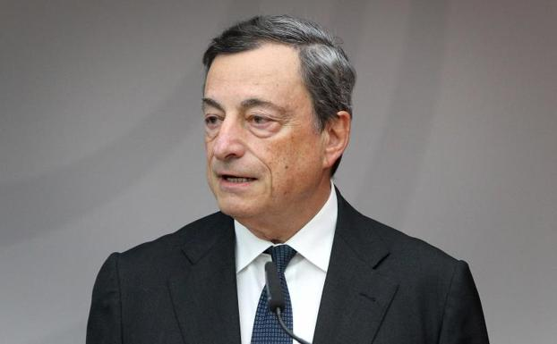 El presidente del Banco Central Europeo (BCE), Mario Draghi./Afp