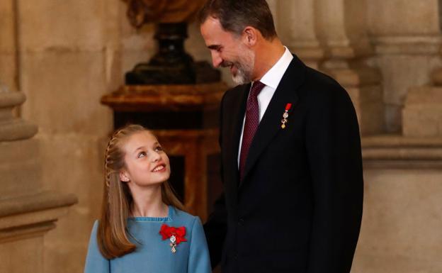 Personal de la Casa del Rey está ya en Asturias para preparar la visita de  la princesa   El Comercio