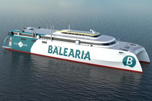 Balearia hará en Gijón el mayor catamarán de alta velocidad con gas del  mundo | El Comercio