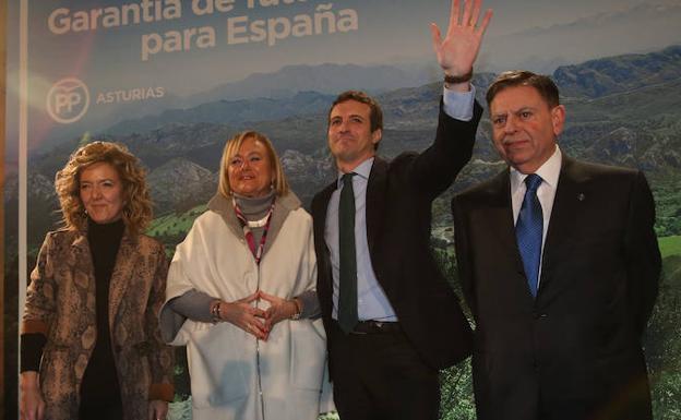 Pablo Casado: «La Reconquista del PP ha empezado en Andalucía y acabará en Asturias»
