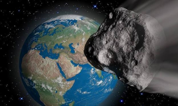 Resultado de imagen para asteroide a la tierra