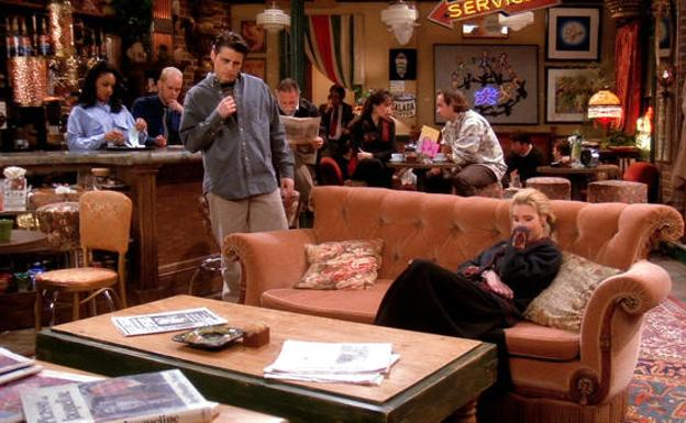 El bar de 'Friends'. /Comedy Central