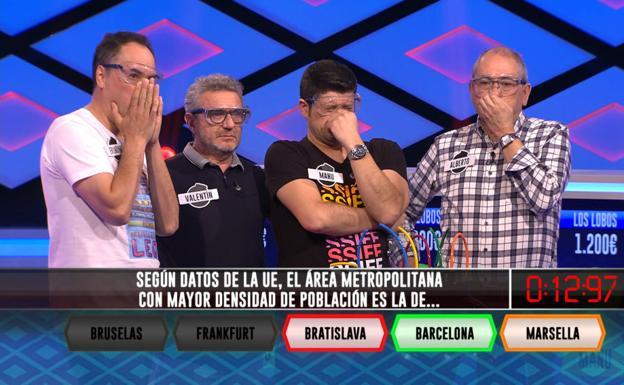 Los actuales 'Lobos' de 'Boom'. /Antena 3