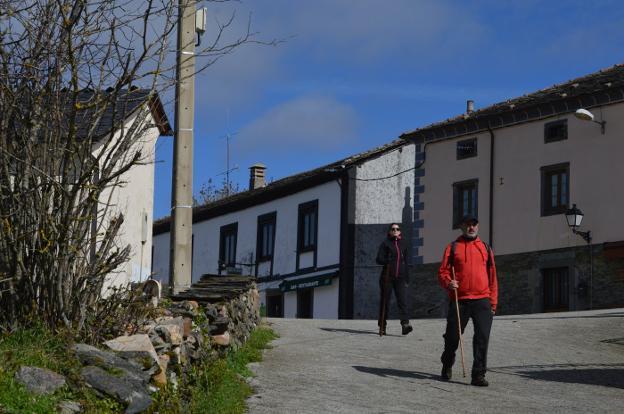 Berducedo marca el Camino Primitivo
