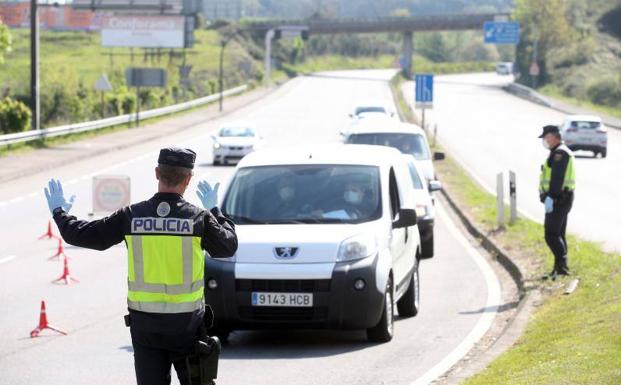 Aumentan los controles en las calles de Asturias