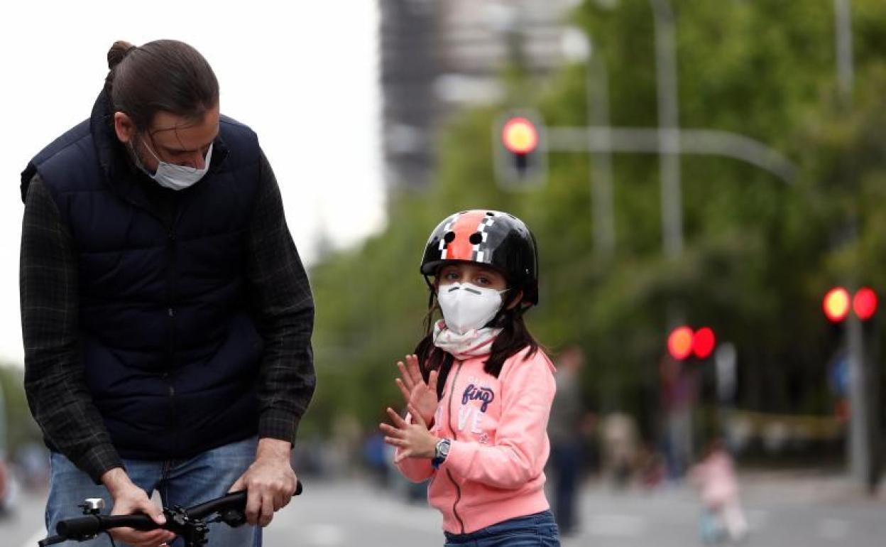 Sanidad exime a los niños menores de 6 años del uso de mascarillas ...