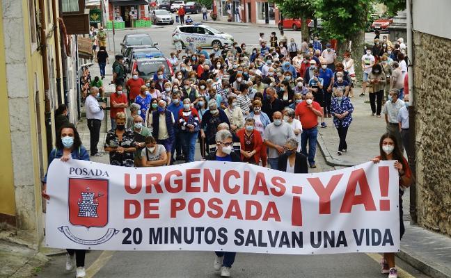 Posada clama por el servicio de Urgencias: «Sobran políticos y faltan médicos»