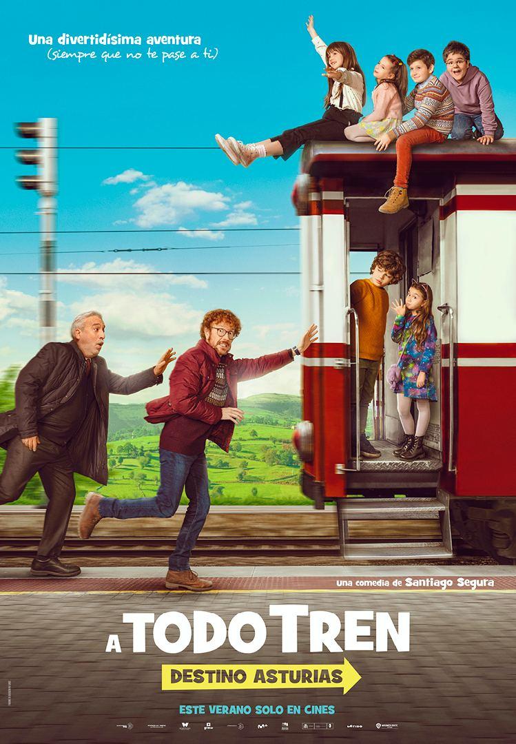 La Pelicula De Santiago Segura A Todo Tren Destino Asturias Grabada En El Principado Ya Tiene Trailer El Comercio
