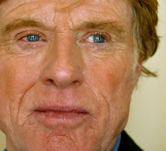 Robert Redford, actor y cineasta norteamericano./