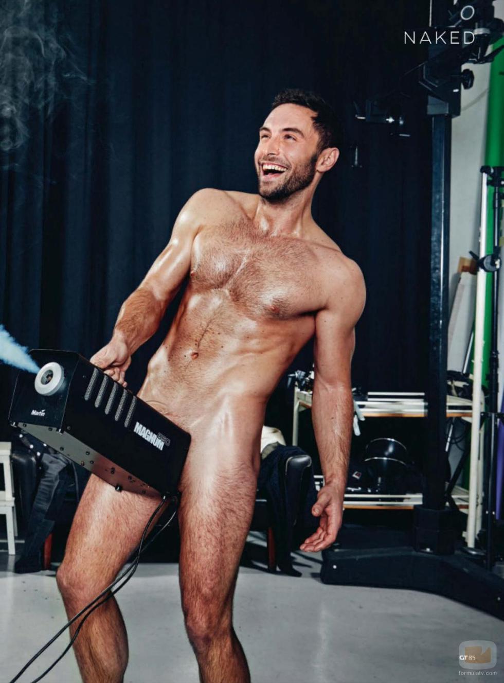 El Muy Sugerente Posado Desnudo Del Ganador De Eurovisión 2015