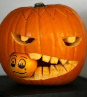 Concurso de calabazas de Halloween El Comercio