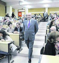Vicente Gotor Rodeado De Profesores Qumica